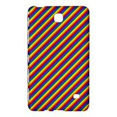 Gay Pride Flag Candy Cane Diagonal Stripe Samsung Galaxy Tab 4 (7 ) Hardshell Case