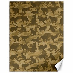 Operation Desert Cat Camouflage Catmouflage Canvas 12  X 16