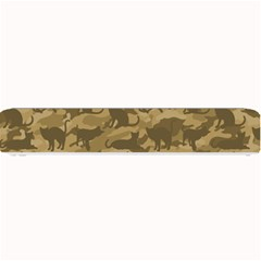 Operation Desert Cat Camouflage Catmouflage Small Bar Mats
