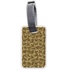 Operation Desert Cat Camouflage Catmouflage Luggage Tags (two Sides)
