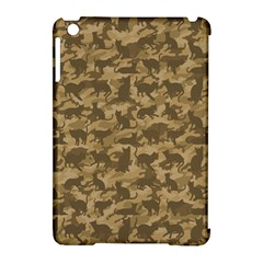 Operation Desert Cat Camouflage Catmouflage Apple Ipad Mini Hardshell Case (compatible With Smart Cover)