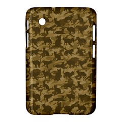 Operation Desert Cat Camouflage Catmouflage Samsung Galaxy Tab 2 (7 ) P3100 Hardshell Case