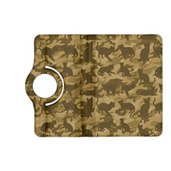 Operation Desert Cat Camouflage Catmouflage Kindle Fire Hd (2013) Flip 360 Case