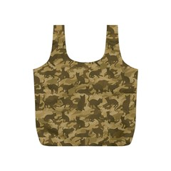 Operation Desert Cat Camouflage Catmouflage Full Print Recycle Bags (s)