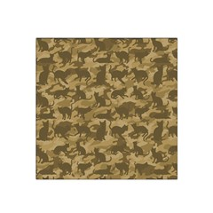 Operation Desert Cat Camouflage Catmouflage Satin Bandana Scarf