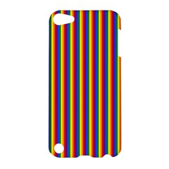 Vertical Gay Pride Rainbow Flag Pin Stripes Apple Ipod Touch 5 Hardshell Case