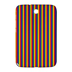 Vertical Gay Pride Rainbow Flag Pin Stripes Samsung Galaxy Note 8 0 N5100 Hardshell Case