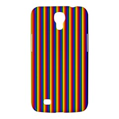 Vertical Gay Pride Rainbow Flag Pin Stripes Samsung Galaxy Mega 6 3  I9200 Hardshell Case