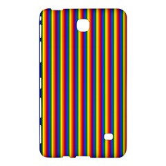 Vertical Gay Pride Rainbow Flag Pin Stripes Samsung Galaxy Tab 4 (7 ) Hardshell Case