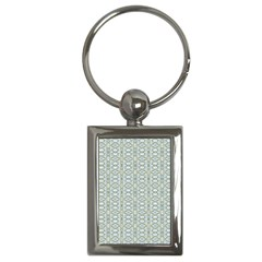 Vintage Ornate Pattern Key Chains (rectangle)
