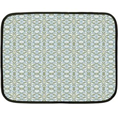 Vintage Ornate Pattern Fleece Blanket (mini)