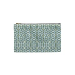 Vintage Ornate Pattern Cosmetic Bag (small)