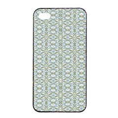 Vintage Ornate Pattern Apple Iphone 4/4s Seamless Case (black)