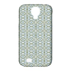 Vintage Ornate Pattern Samsung Galaxy S4 Classic Hardshell Case (pc+silicone)