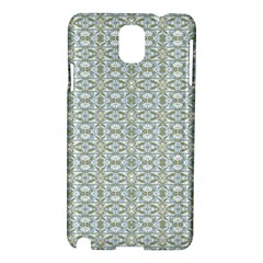 Vintage Ornate Pattern Samsung Galaxy Note 3 N9005 Hardshell Case