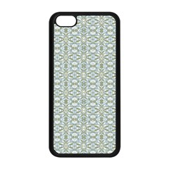Vintage Ornate Pattern Apple Iphone 5c Seamless Case (black)