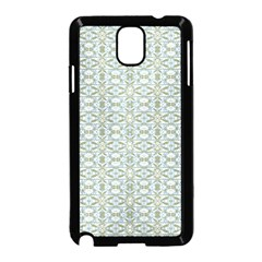 Vintage Ornate Pattern Samsung Galaxy Note 3 Neo Hardshell Case (black)
