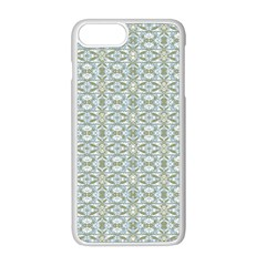 Vintage Ornate Pattern Apple Iphone 8 Plus Seamless Case (white)