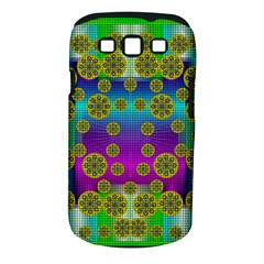 Celtic Mosaic With Wonderful Flowers Samsung Galaxy S Iii Classic Hardshell Case (pc+silicone)