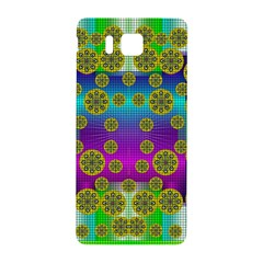 Celtic Mosaic With Wonderful Flowers Samsung Galaxy Alpha Hardshell Back Case