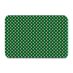 Irish Flag Green White Orange On Green St  Patrick s Day Ireland Plate Mats