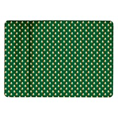 Irish Flag Green White Orange On Green St  Patrick s Day Ireland Samsung Galaxy Tab 10 1  P7500 Flip Case