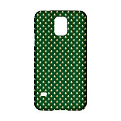 Irish Flag Green White Orange On Green St  Patrick s Day Ireland Samsung Galaxy S5 Hardshell Case