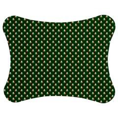 Irish Flag Green White Orange On Green St  Patrick s Day Ireland Jigsaw Puzzle Photo Stand (bow)
