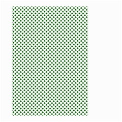 Shamrock 2 Tone Green On White St Patrick?¯s Day Clover Small Garden Flag (two Sides)