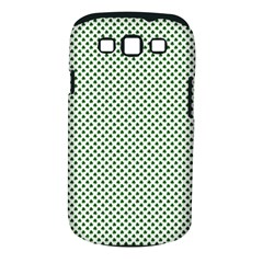 Shamrock 2 Tone Green On White St Patrick?¯s Day Clover Samsung Galaxy S Iii Classic Hardshell Case (pc+silicone)