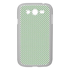 Shamrock 2 Tone Green On White St Patrick?¯s Day Clover Samsung Galaxy Grand Duos I9082 Case (white)