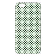 Shamrock 2 Tone Green On White St Patrick?¯s Day Clover Iphone 6 Plus/6s Plus Tpu Case