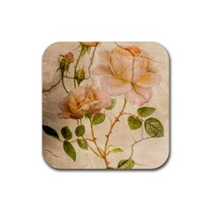 Rose Flower 2507641 1920 Rubber Coaster (square)