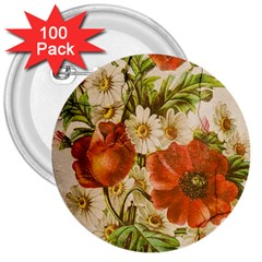 Poppy 2507631 960 720 3  Buttons (100 Pack)