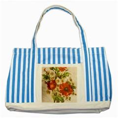 Poppy 2507631 960 720 Striped Blue Tote Bag