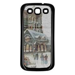 Santa Claus 1845749 1920 Samsung Galaxy S3 Back Case (black)