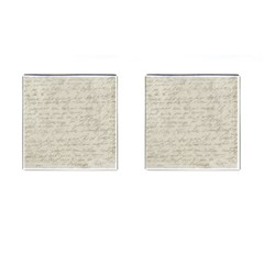 Handwritten Letter 2 Cufflinks (square)