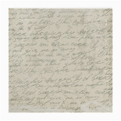 Handwritten Letter 2 Medium Glasses Cloth