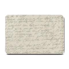 Handwritten Letter 2 Small Doormat