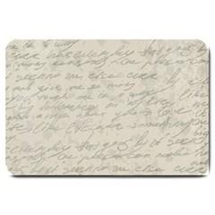 Handwritten Letter 2 Large Doormat