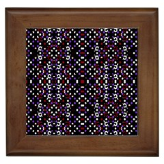 Futuristic Geometric Pattern Framed Tiles