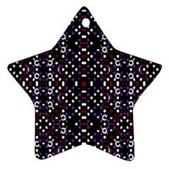 Futuristic Geometric Pattern Ornament (star)