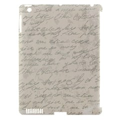 Handwritten Letter 2 Apple Ipad 3/4 Hardshell Case (compatible With Smart Cover)