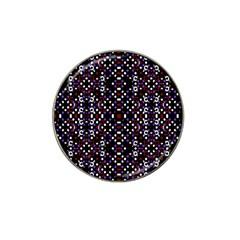 Futuristic Geometric Pattern Hat Clip Ball Marker