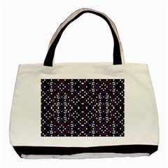 Futuristic Geometric Pattern Basic Tote Bag (two Sides)