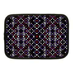 Futuristic Geometric Pattern Netbook Case (medium)