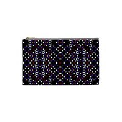 Futuristic Geometric Pattern Cosmetic Bag (small)