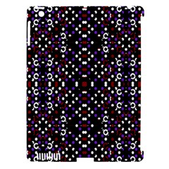 Futuristic Geometric Pattern Apple Ipad 3/4 Hardshell Case (compatible With Smart Cover)
