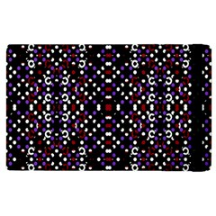 Futuristic Geometric Pattern Apple Ipad 2 Flip Case