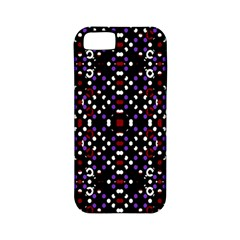 Futuristic Geometric Pattern Apple Iphone 5 Classic Hardshell Case (pc+silicone)